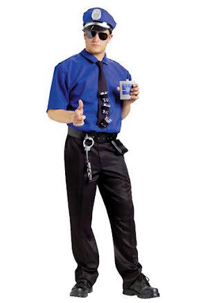 Polisskjorta med tillbehör
