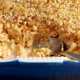 Cheesy Salmon Casserole.