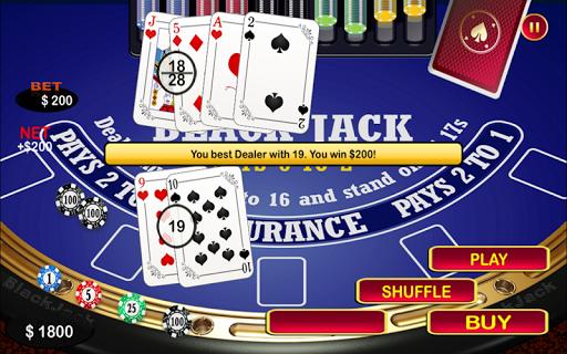 Blackjack 21 Black Jack Table 2.0 Mod screenshots 5
