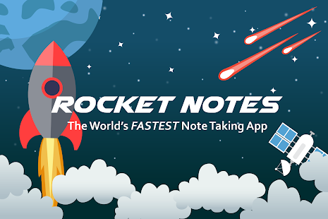 Rocket Notes- screenshot thumbnail