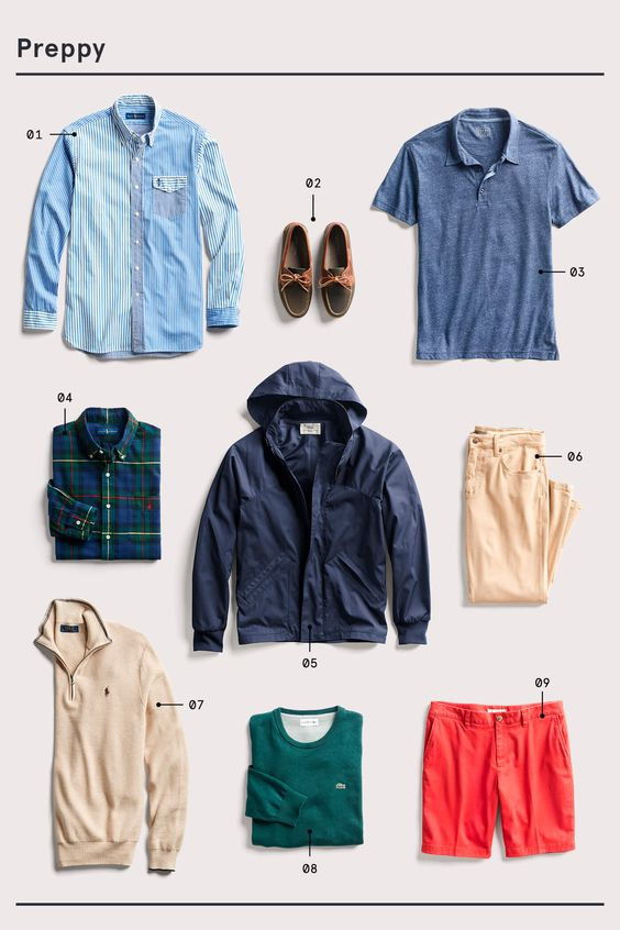 Preppy outifts