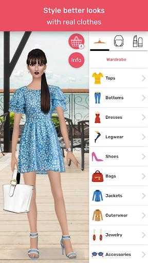 Trendy Stylist - Fashion Game 👠💄  captures d'écran 4
