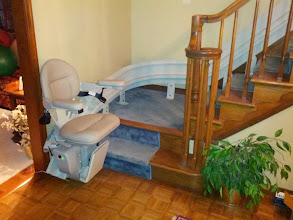 Photo: Bruno | Elite Curved Stairlift