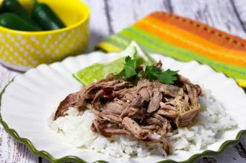 """Mexican Citrus Roasted Pork """"This recipe is low cal, double duty, with..."""