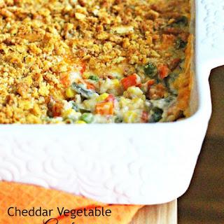 Cheddar Vegetable Gratin Recipe