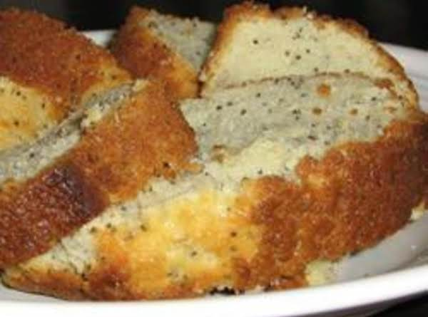Norma's Moist Lemon Glazed Poppy Seed Bread Recipe