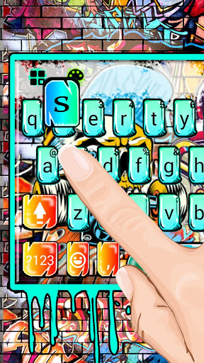 Street Skate Graffiti Keyboard Theme 1.0 screenshots 3