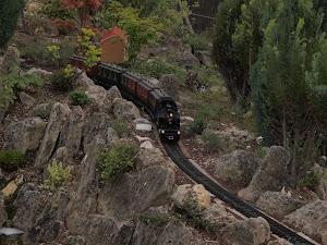 Train électrique au Jarditrain