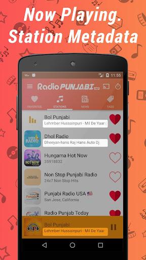 Punjabi Radio HD - Music & News Stations ss2