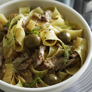 Pork Ragout with Pappardelle.