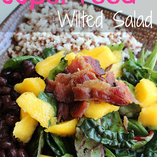 Super Food Wilted Salad.