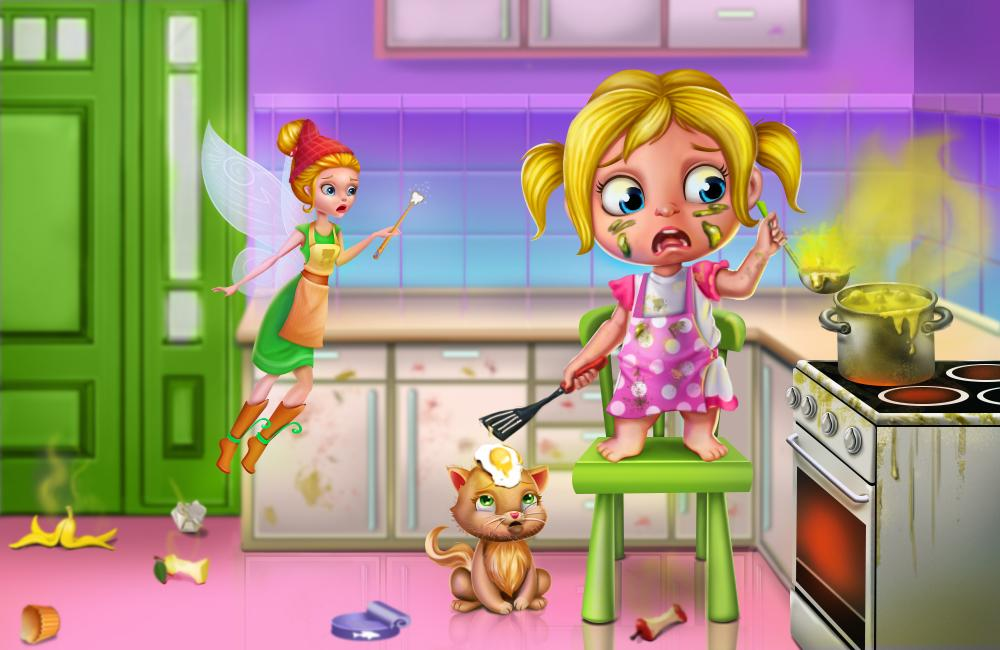 Tooth Fairy Little Helper - Cleaning & Home Chores- screenshot