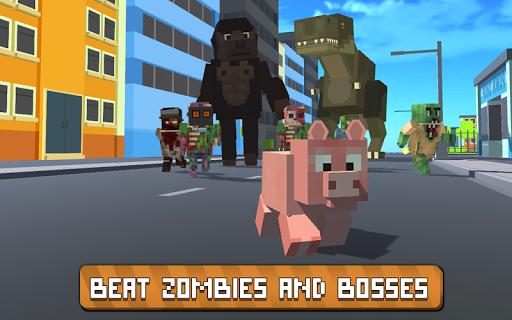 Blocky City Pig Simulator 3D 1.10 screenshots 3