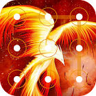 Applock Theme - Fire Phoenix icon