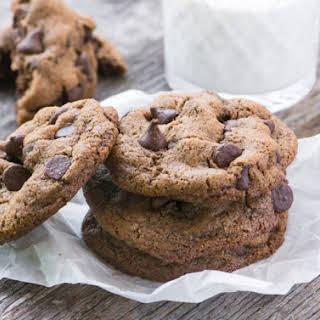 Flourless Pecan Chocolate Chip Cookies.