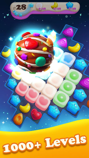 Crazy Candy Bomb - Sweet match 3 game apkdebit screenshots 12