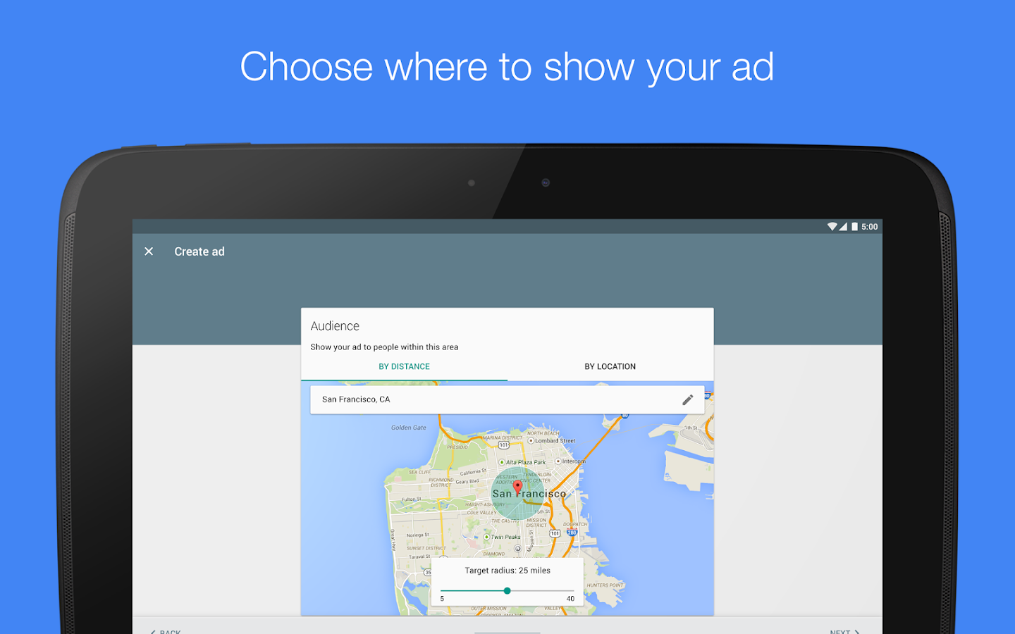 AdWords Express- screenshot