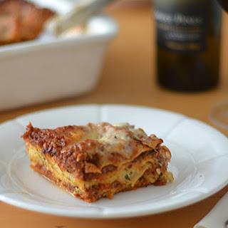 Sausage Lasagna.