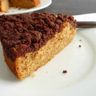 Brown Sugar Chocolate Crumb Cake.