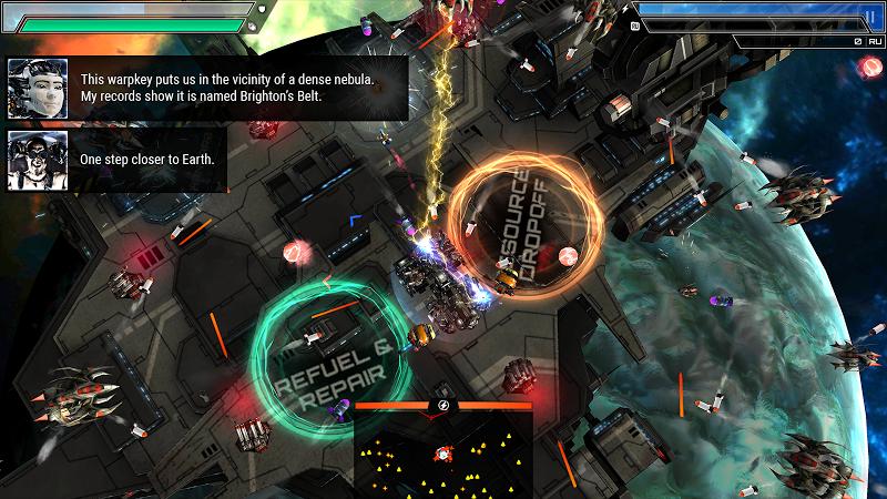 Starlost - Space Shooter Screenshot 5