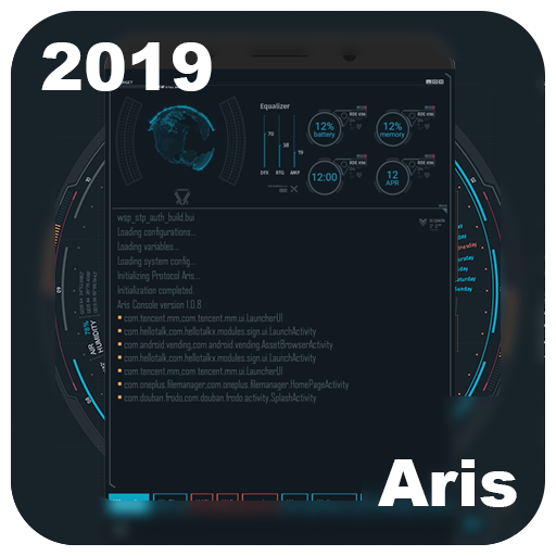 SciFi Launcher -- Aris Theme 1 3 2 + (AdFree) APK for Android
