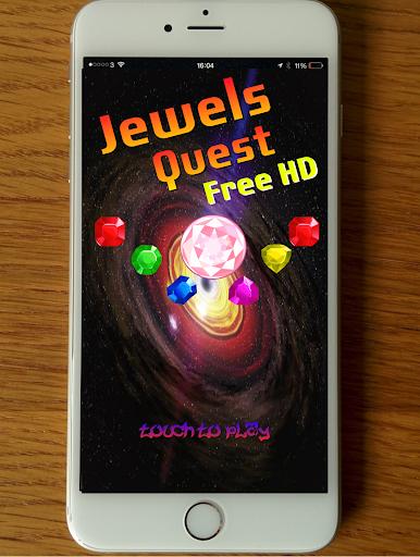 Jewels Quest : Free HD 1.0 screenshots 4