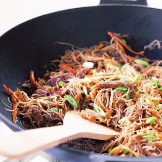 Beef Stir-fry With Rice Noodles