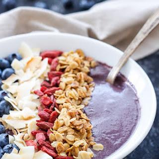 Blueberry Power Smoothie Bowl Recipe