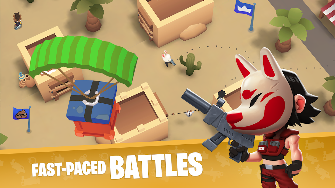 Battlelands Royale Android App Screenshot