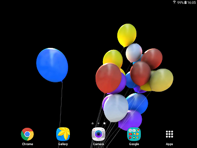 Balloons 3D Live Wallpaper screenshot 8