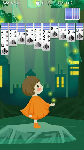 Spider Solitaire - لقطات شاشة مجانية لألعاب الورق Solitaire Fun 5