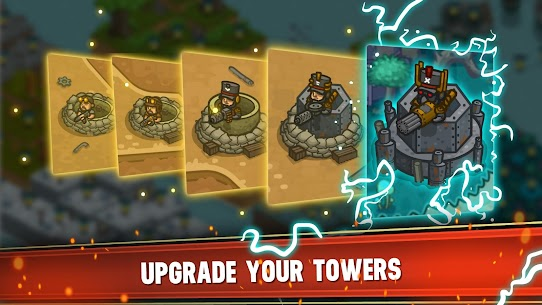 Steampunk Defense: tower defense MOD (unlimited gold/chips) 2