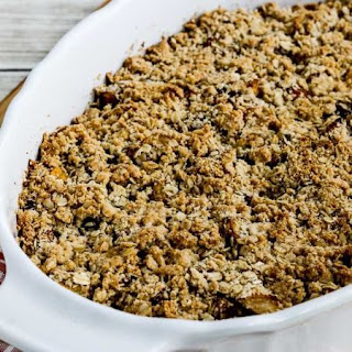 Low-Sugar and Gluten-Free Pumpkin and Apple Crumble Recipe