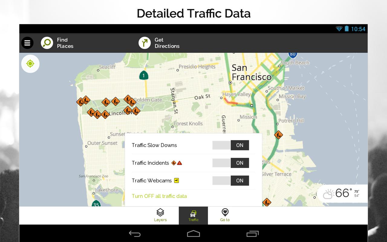 MapQuest GPS Navigation & Maps- screenshot