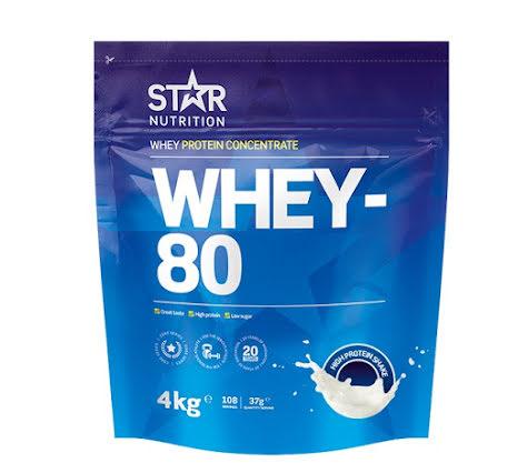 Star Nutrition Whey 80 4kg - Salted Caramel