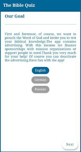 The Bible Quiz  screenshots 2