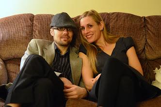 Photo: Logan and Sis