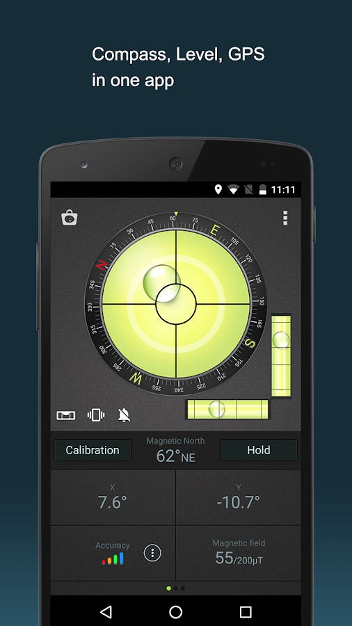Compass Level & GPS- screenshot