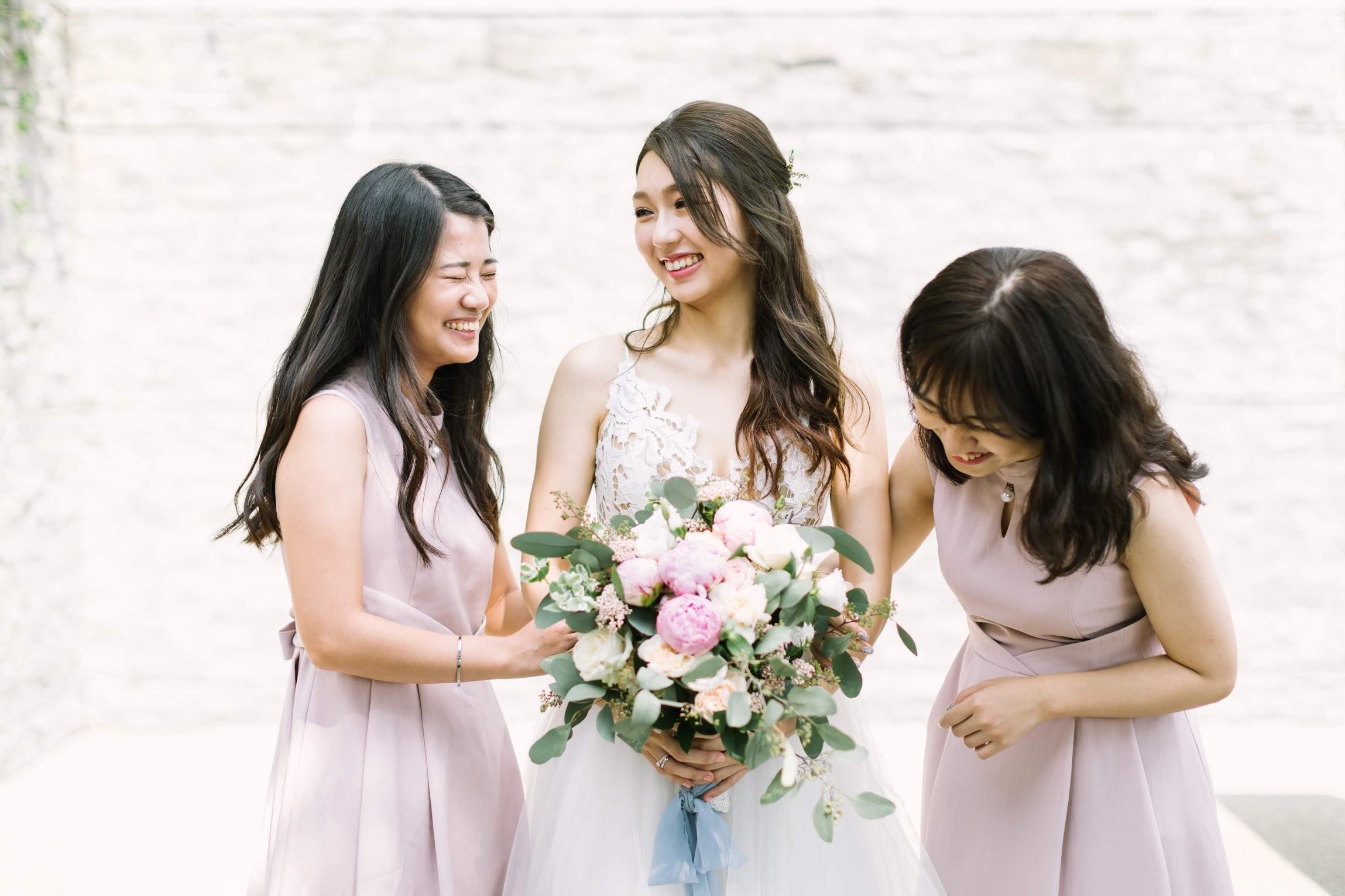 涵碧樓婚禮攝影 - bridal party