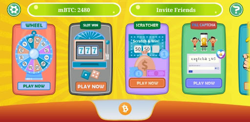 Play simple games and win free mBTC coins. Play games and try your luck.