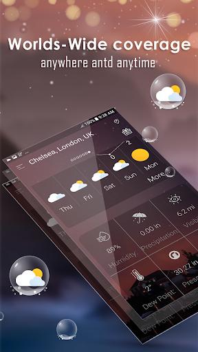 توقعات الطقس اليومية screenshot 5