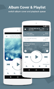 NRG Player music player Screenshot