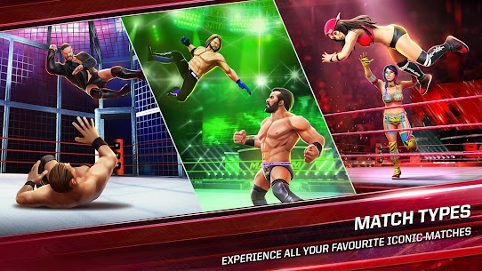 WWE Mayhem Mod APK (Unlimited Gold, Unlock) 1.31.145 for Android 3