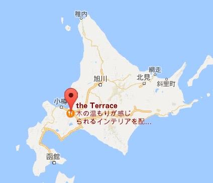 地図:テラス