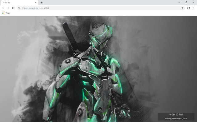 Overwatch New Tab & Wallpapers Collection