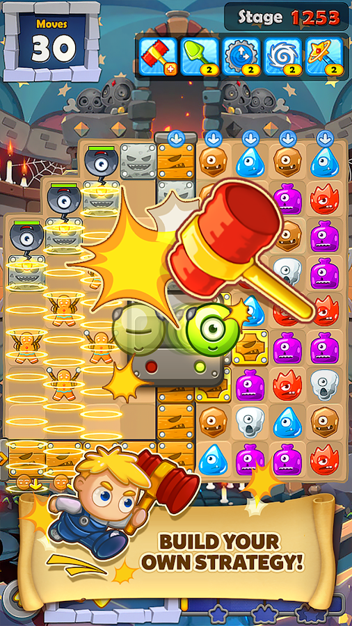 Screenshots of MonsterBusters: Match 3 Puzzle for iPhone