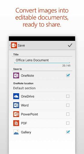 Office Lens for PC