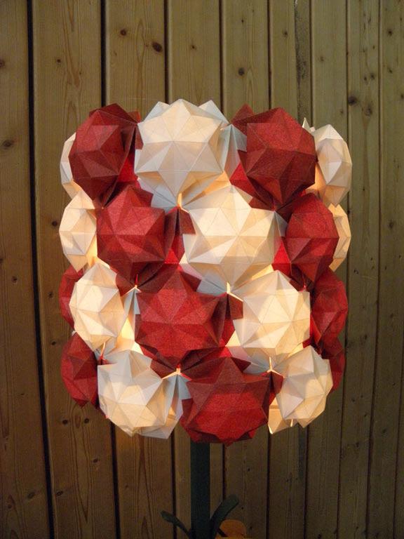 Lamp and Kusudama by Ralf Konrad
