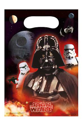 Star Wars, kalaspåsar 6 st