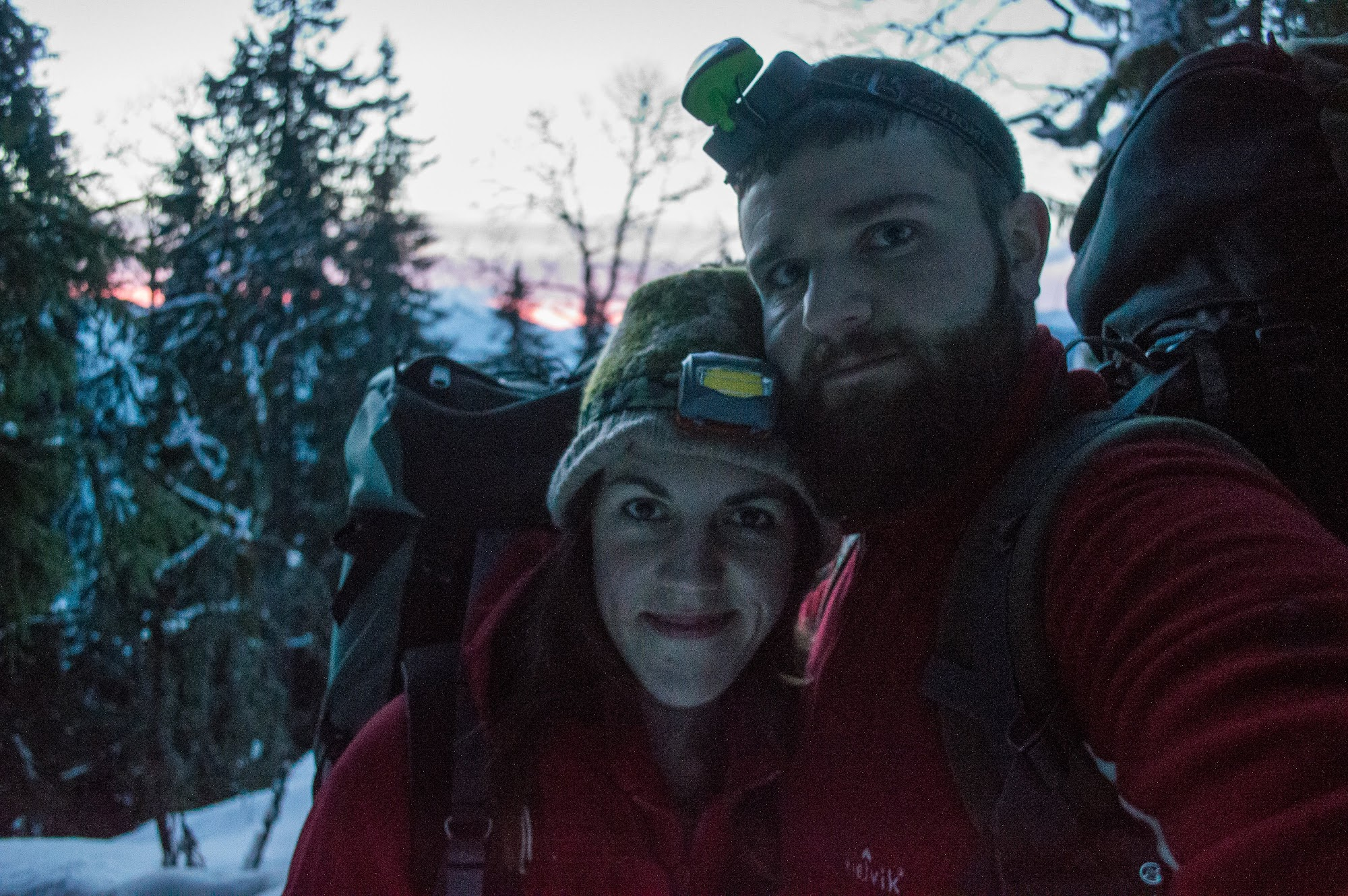 Богдан і Марічка в горах